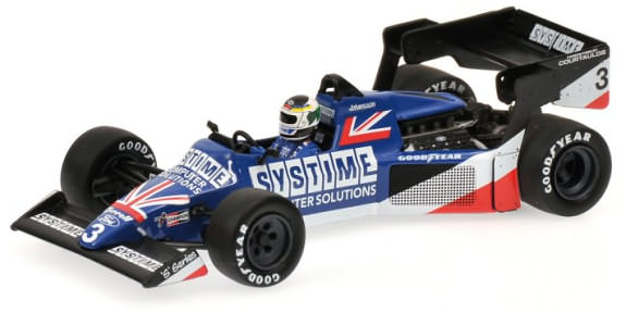 MINICHAMPS 1/43 1984 TYRELL FORD 012 BRITISH GP – S. JOHANSSON