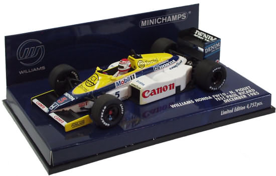 1985 WILLIAMS FW10 TEST CAR – N. PIQUET