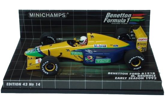 1992 BENETTON FORD B191-B – M. BRUNDLE