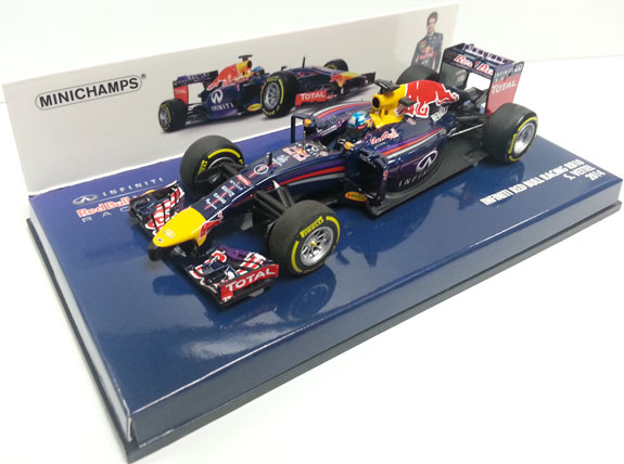 MINICHAMPS 1/43 2014 RED BULL RACING RB10 - SEBASTIEN VETTEL