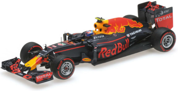MINICHAMPS 1/43 2016 RED BULL F1 RB12 GERMAN GP - MAX VERSTAPPEN