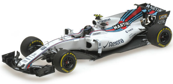 MINICHAMPS 1/43 2017 WILLIAMS MARTINI F1 FW40 - LANCE STROLL