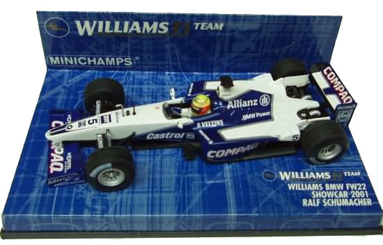 2001 WILLIAMS BMW SHOWCAR – R. SCHUMACHER