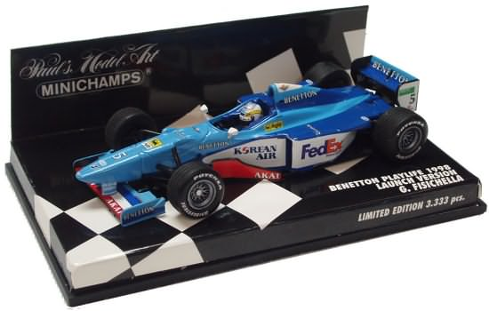 1998 BENETTON PLAYLIFE LAUNCH VERSION – G. FISICHELLA
