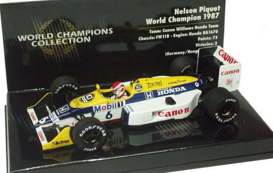 1987 WILLIAMS FW11B – N. PIQUET
