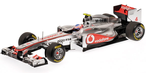 MINICHAMPS 1/18 2011 MCLAREN MERCEDES MP4/26 - JENSON BUTTON