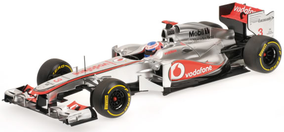 MINICHAMPS 1/18 2012 MCLAREN MERCEDES SHOWCAR JENSON BUTTON