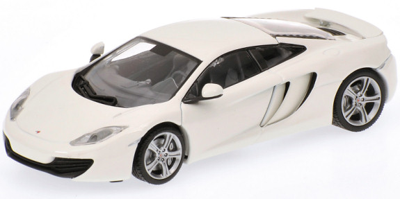 MINICHAMPS 1/43 2011 MCLAREN MP4-12C - WHITE
