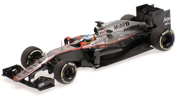 MINICHAMPS 1/43 2015 MCLAREN HONDA MP4-30 - FERNANDO ALONSO