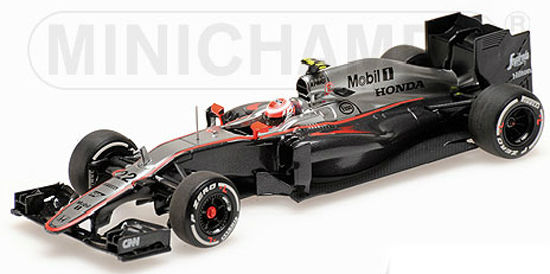 MINICHAMPS 1/43 2015 MCLAREN HONDA MP4-30 - JENSON BUTTON
