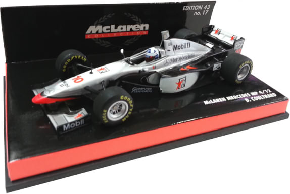 MINICHAMPS1/43 1997 MCLAREN MERCEDES MP4-12 - DAVID COULTHARD