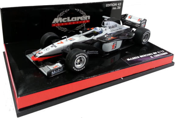 MINICHAMPS 1/43 1998 MCLAREN MERCEDES MP4-13 – DAVID COULTHARD