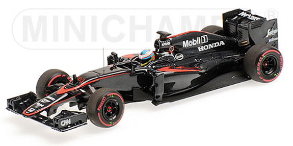 MINICHAMPS 1/43 2015 MCLAREN MP4-30 SPANISH GP - FERNANDO ALONSO