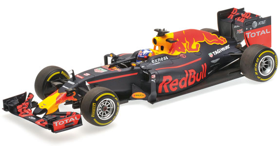 MINICHAMPS 1/18 2016 RED BULL RACING F1 RB12 - DANIEL RICCIARDO