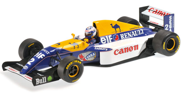 MINICHAMPS 1/18 1993 WILLIAMS RENAULT F1 FW15 - ALAIN PROST