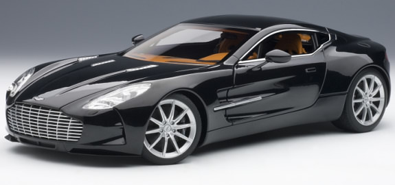 AUTOART 1/18 ASTON MARTIN ONE-77 - BLACK PEARL