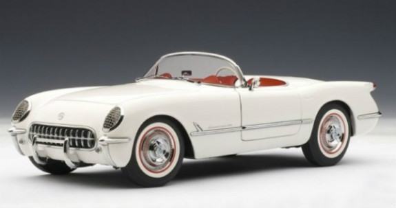AUTOART 1/18 1953 CHEVROLET CORVETTE - WHITE