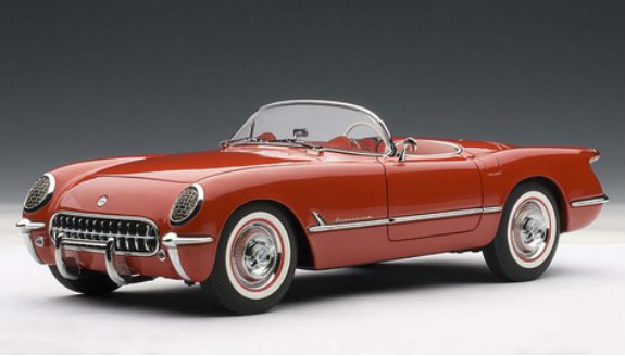 AUTOART 1/18 1953 CHEVROLET CORVETTE - RED