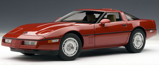 AUTOART 1/18 CHEVROLET CORVETTE 1986 - RED