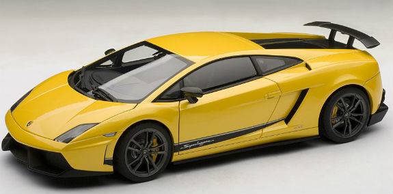 1/18 LAMBORGHINI GALLARDO LP570-4 SUPERLEGGERA -YELLOW