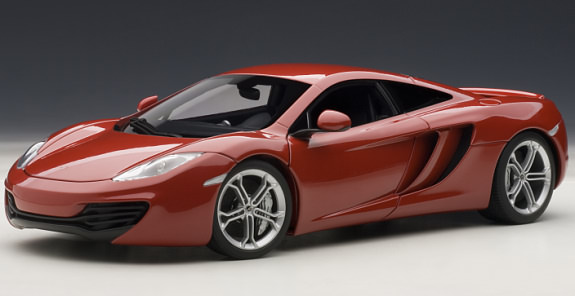 AUTOART 1/18 MCLAREN MP4-12C - RED