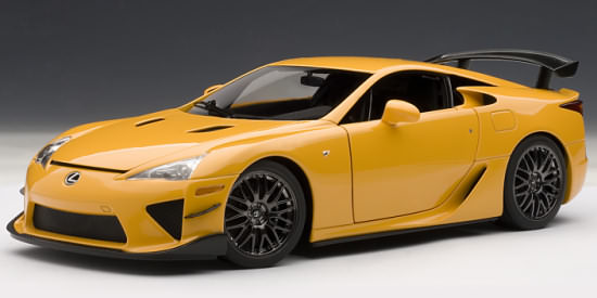 AUTOART 1/18 LEXUS LFA NURBURGRING PACKAGE - ORANGE