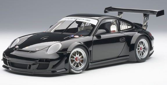 AUTOART 1/18 2010 PORSCHE 911 997 GT3 R PLAIN BODY - BLACK