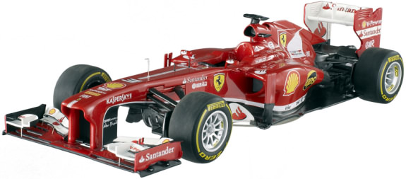 HOT WHEELS ELITE 1/18 2013 FERRARI F138 CHINA – FERNANDO ALONSO