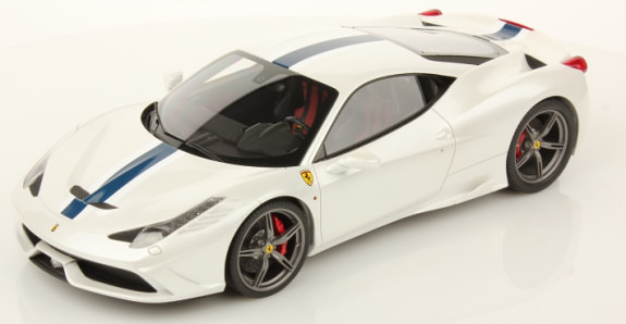 MR COLLECTION 1/18 FERRARI 458 SPECIALE - FUJI WHITE