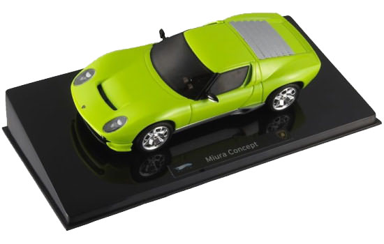 HOT WHEELS ELITE LAMBORGHINI MIURA CONCEPT - GREEN