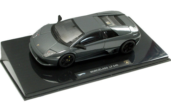 HOT WHEELS ELITE 1/43 2006 LAMBORGHINI MURCIÉLAGO LP 640 - GRAY