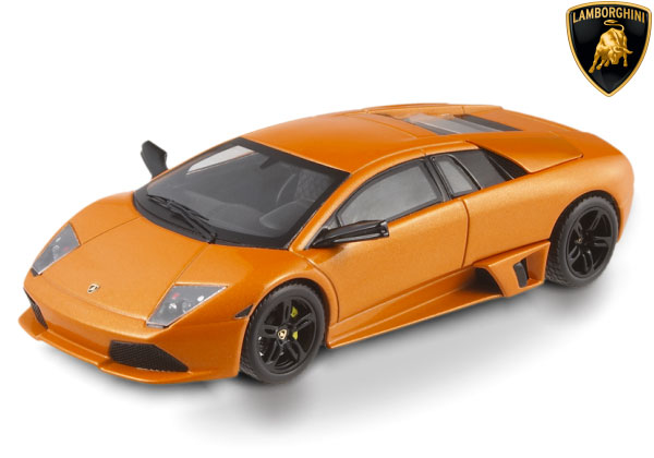 HOT WHEELS ELITE 1/43 2006 LAMBORGHINI MURCIÉLAGO LP640 - ORANGE