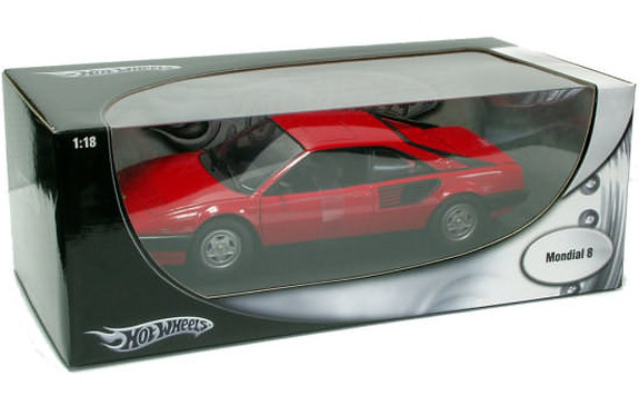 HOT WHEELS FOUNDATION FERRARI MONDIAL 8 - RED