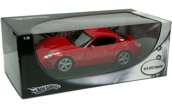 HOT WHEELS FOUNDATION 1/18 FERRARI 575 GTZ ZAGATO - RED