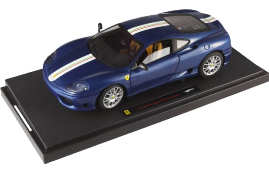 HOT WHEELS ELITE FERRARI CHALLENGE STRADALE - BLUE