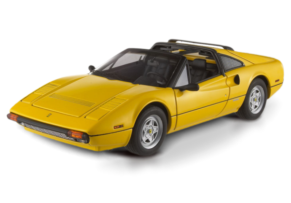 HOT WHEELS ELITE FERRARI 308 GTS- YELLOW
