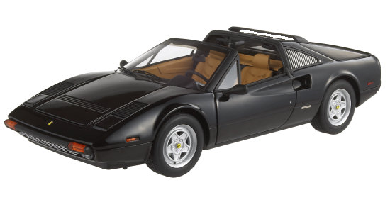 HOT WHEELS ELITE FERRARI 308 GTS - BLACK