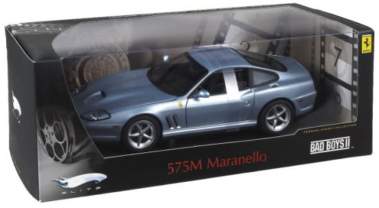 HOT WHEELS ELITE FERRARI 575 MM - BAD BOYS 2