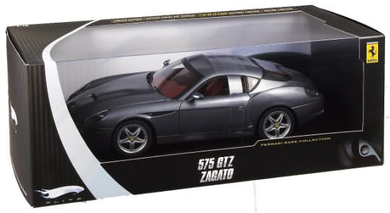 HOT WHEELS ELITE FERRARI 575 GTZ ZAGATO - ARGENT