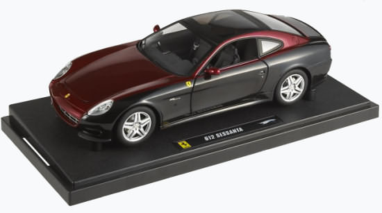 HOT WHEELS ELITE FERRARI 612 SESSANTA - 2 TONE