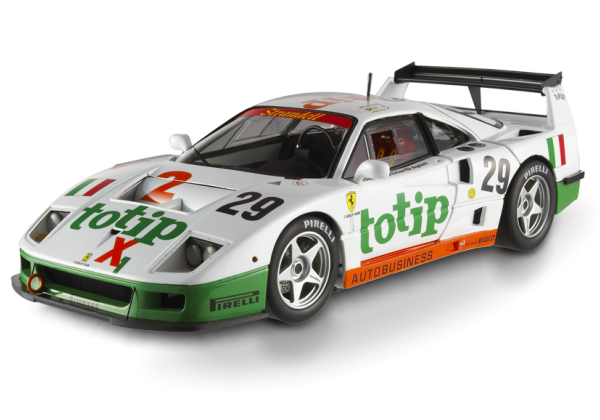 HOT WHEELS ELITE FERRARI F40 COMPETIZIONE - TOTIP #29