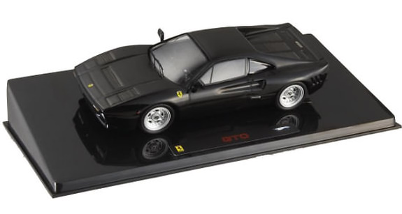 HOT WHEELS ELITE 1/43 FERRARI 288 GTO - BLACK