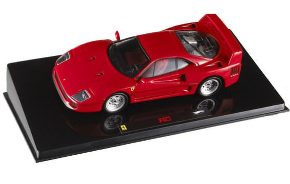 HOT WHEELS ELITE FERRARI F40 - RED