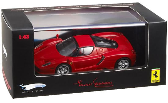 HOT WHEELS ELITE 1/43 ENZO FERRARI - RED