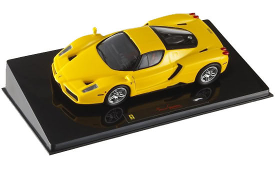 HOT WHEELS ELITE 1/43 ENZO FERRARI - YELLOW