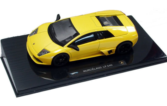 HOT WHEELS ELITE 1/43 2006 LAMBORGHINI MURCIÉLAGO LP640 - YELLOW