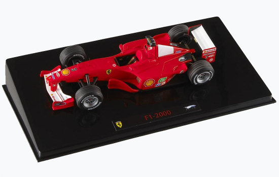 HOT WHEELS ELITE 1/43 2000 FERRARI F1-2000 – MICHAEL SCHUMACHER