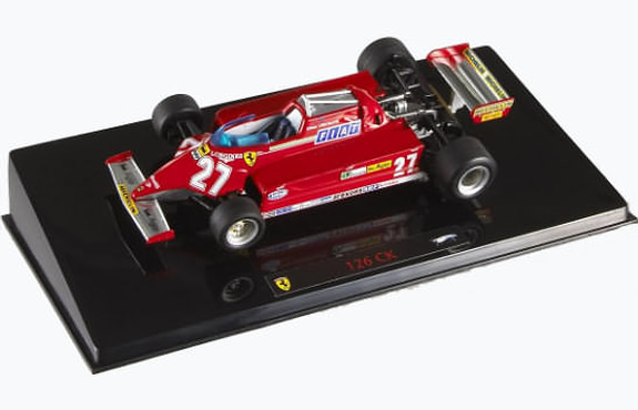HOT WHEELS 1/43 1981 FERRARI 126 CK MONZA GP – G. VILLENEUVE