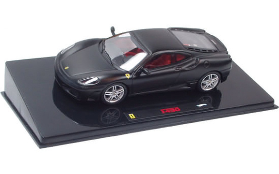 HOT WHEELS ELITE FERRARI F430 - MAT BLACK