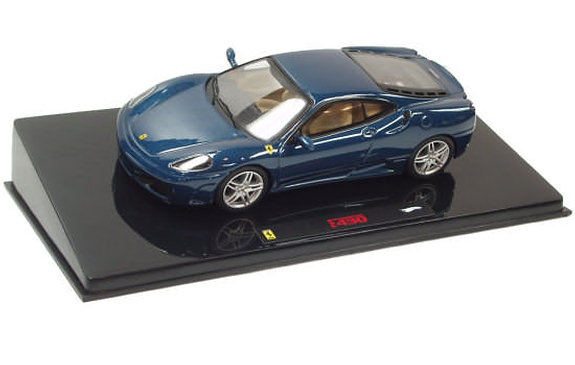HOT WHEELS ELITE FERRARI F430 - BLUE